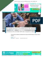 Balance de vacunación en Colombia_ se aplican más de 300.000 dosis diarias - Salud - ELTIEMPO.COM