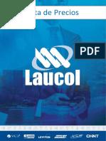 Lista de Precios Completa Laucol Ecuador