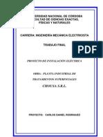 Proyecto Electrico de Planta Industrial