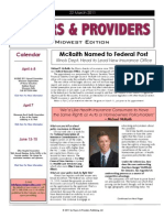 Payers & Providers Midwest Edition – March 22, 2011