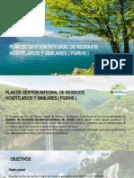 PLAN DE GESTION INTEGRAL DE RESIDUOS HOSPITALARIOS Y SIMILARES