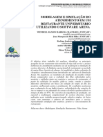 MODELAGEM E SIMULAÇÃO DO RESTAURANTE UNIVERSITARIO
