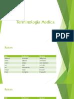 Terminologia Medica - Raices