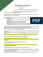 Bibliografia AGGIORNATA Fondamenti di Antropologia musicale ed Etnomusicologia