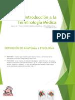 MASJ1142 - Introducción a la Terminología Médica