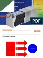 Li-ion battery cooling
