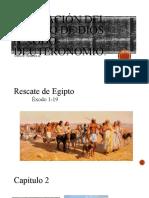 Liberación del pueblo de dios (éxodo-Deuteronomio)