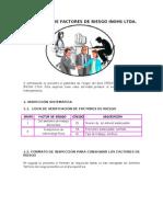 PANORAMA DE FACTORES DE RIESGO-CASO ESPECIFICO