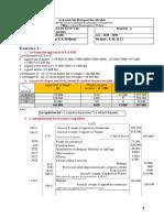 Correction DU TD 1 - Comptabilité des sociétés