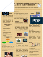 POSTER. Drogas