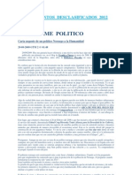 Doc Desclasificados 2012