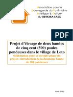 153750223 Projet d Elevage de Poule Pondeuse