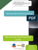 mecanizado electroquimico