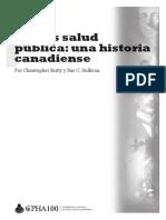 Promoción de La Salud Historia Salud Pública Canadá 2010