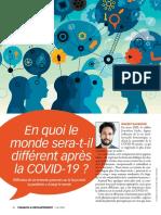 En Quoi Le Monde Sera t Il Different Apres La COVID 19