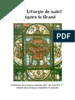 Ordinário da Missa tradicional - Francês