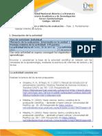 Guia de actividades y Rúbrica de evaluación - fase 2 - Fundamentar