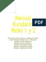 Manual de Kundalini Reiki 1 y 2 JC