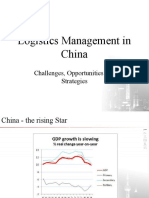 Logistics Management in China