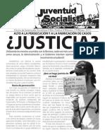 ¿Justicia?, Boletín #3, Marzo 2011
