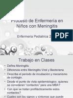 Cuidados de Enfermeria en Niños Con Meningitis