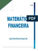 Slides Mat Fin  - MBA FGV - 7 - SÉRIES NÃO UNIFORMES - FEV 21 - Rev 37 [Modo de Compatibilidade]