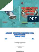 Analisa Investasi Industri Kecil 2008