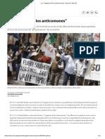 """La """"Tragedia de los anticomunes"""" Opinión _ Peru21"""