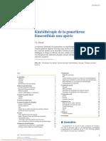 Kinésithérapie de La Gonarthrose Fémorotibiale Non Opérée 2015