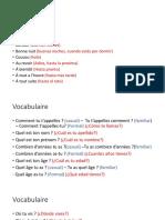 Clase 2 (presentación y verbo être)