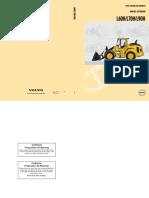 Volvo L60!70!90H Manuale Istruzioni