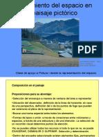 Paisaje - El tratamiento del espacio en el paisaje pictórico