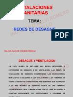 REDES DE DESAGUE