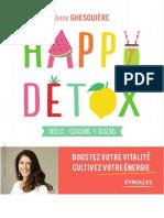 Happy Détox - Boostez Votre Vitalité, Cultivez Votre Énergie