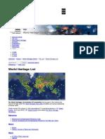 World Heritage Centre - UNESCO World Heritage List  Interactive map