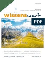 wissenswert Juni 2021 - Das Magazin der Leopold-Franzens-Universität Innsbruck