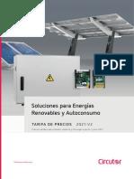 202106 Circutor Tarifa Renovables 2021 v2