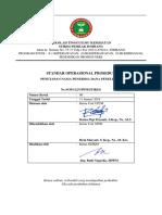 F.SOP Penetapan Nama Penerima Dana Penelitian K.T.P.D (SOP 112 LPPM STIKES)
