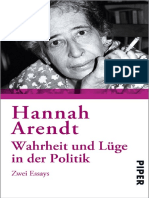 Wahrheit und Lüge in der Politik Zwei Essays (German Edition) by Arendt, Hannah [Arendt, Hannah] (z-lib.org)