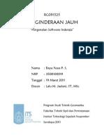 Pengenalan Software Inderaja - 3508100019