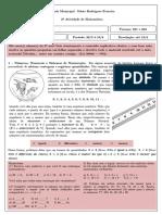 2ª ATIVIDADE - Matemática 601 e 602