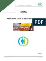 Manuel de Sante Et Securité Au Travail