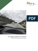 Le Risque Routier en Mission. Guide d'Évaluation Des Risques INRS