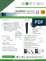 Panneau Rigide MEDIUM + Gigaclip