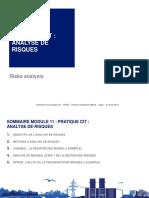 Module 11_Pratique CIT_Analyse de Risques