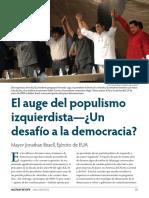 Populismo de izquierda