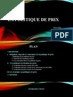 LA POLITIQUE DE PRIX - Copie (1)