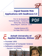 Multilingual Seaside Web Applications with seaBreeze 5.0 - Georg Heeg