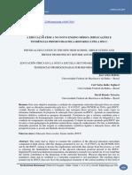 A EDUCAÇÃO FÍSICA NO NOVO ENSINO MÉDIO - IMPLICAÇÕES E TENDÊNCIAS - PUBLICADO PRÁXIS EDUCACIONAL BELTRÃO TAFFAREL TEIXEIRA
