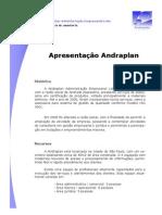 Apresentação Andraplan 2011 03 14